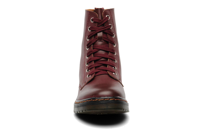 Bottines et boots I Love Shoes Thactile Bordeaux vue portées chaussures