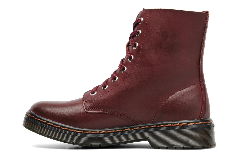 Bottines et boots I Love Shoes Thactile Bordeaux vue face