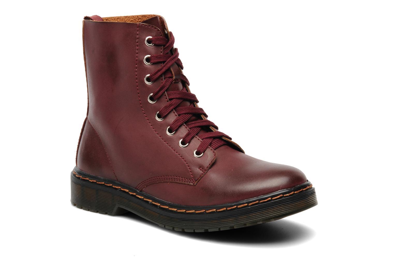 Bottines et boots I Love Shoes Thactile Bordeaux vue détail/paire