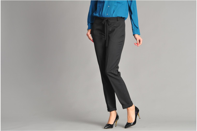 Escarpins I Love Shoes Parker Noir vue bas / vue portée sac