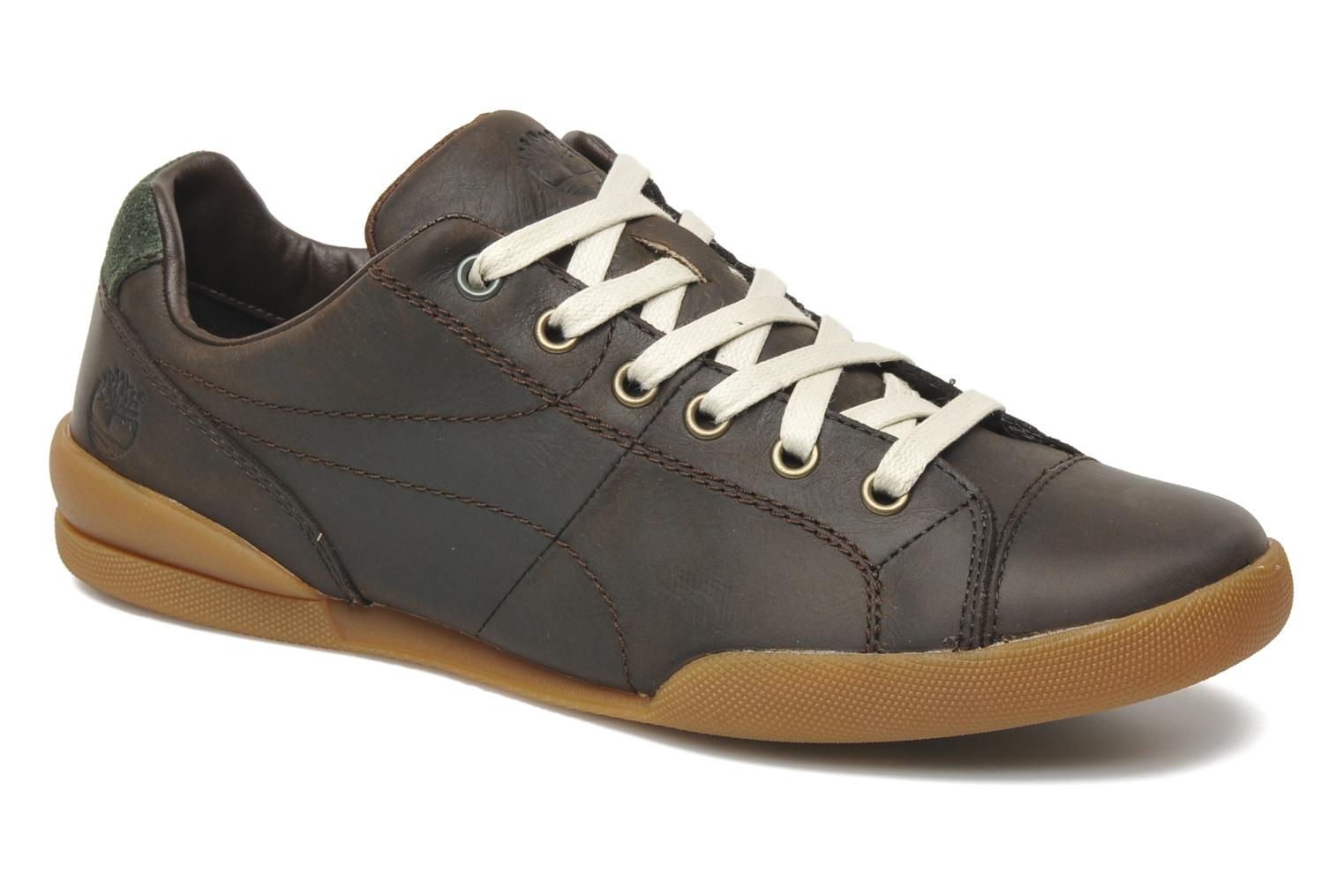 Earthkeepers Splitcup Leather Cap Toe Oxford Dark Brown Oiled