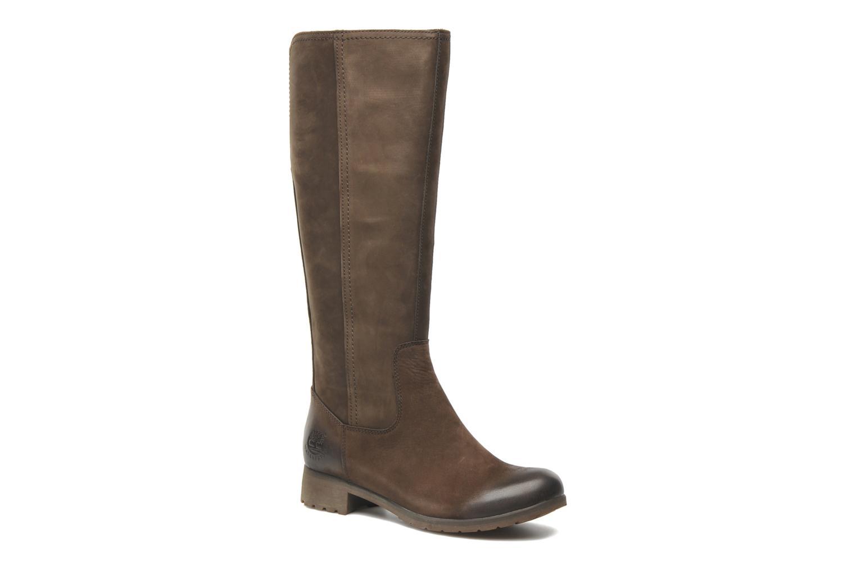 Bottes Timberland Putnam Tall WP Boot Marron vue détail/paire