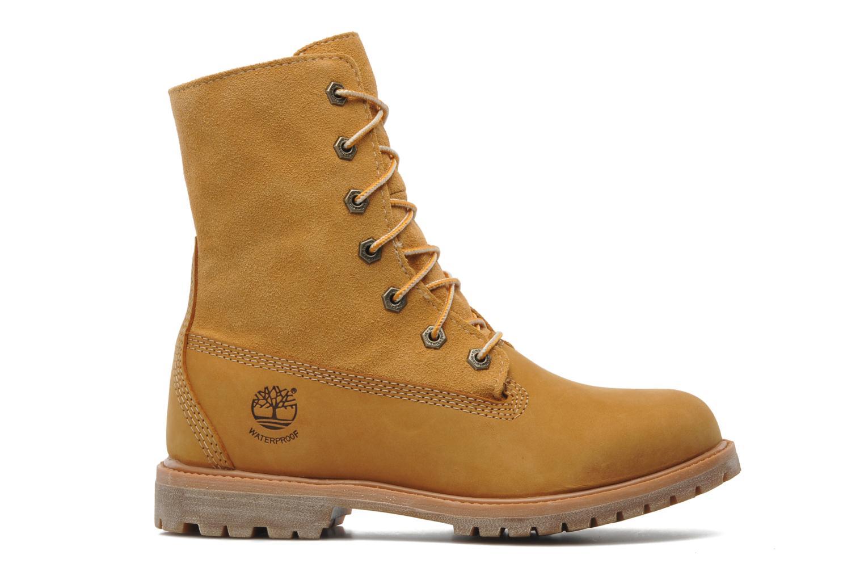 Bottines et boots Timberland Authentics Teddy Fleece WP Fold Down Beige vue derrière