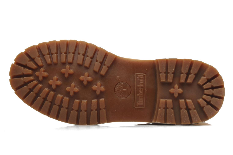 Bottines et boots Timberland Authentics Teddy Fleece WP Fold Down Beige vue haut