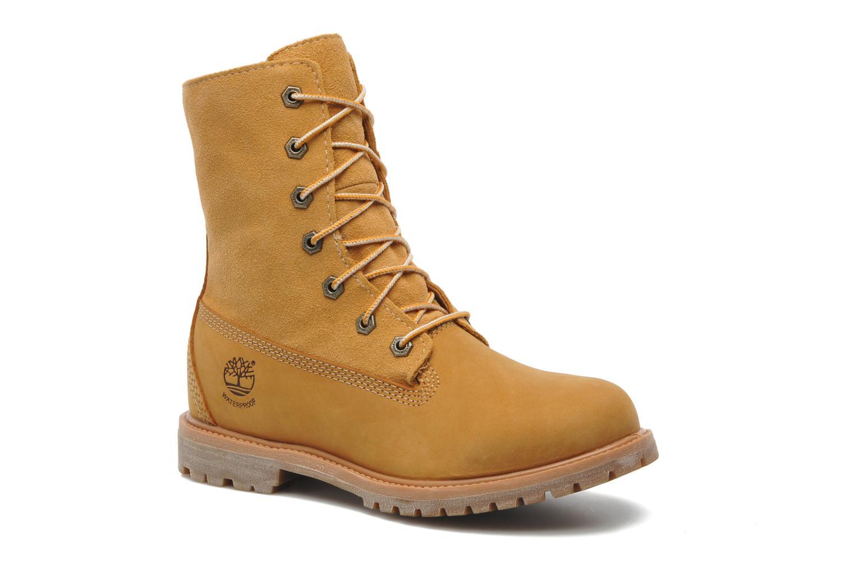 Bottines et boots Timberland Authentics Teddy Fleece WP Fold Down Beige vue détail/paire