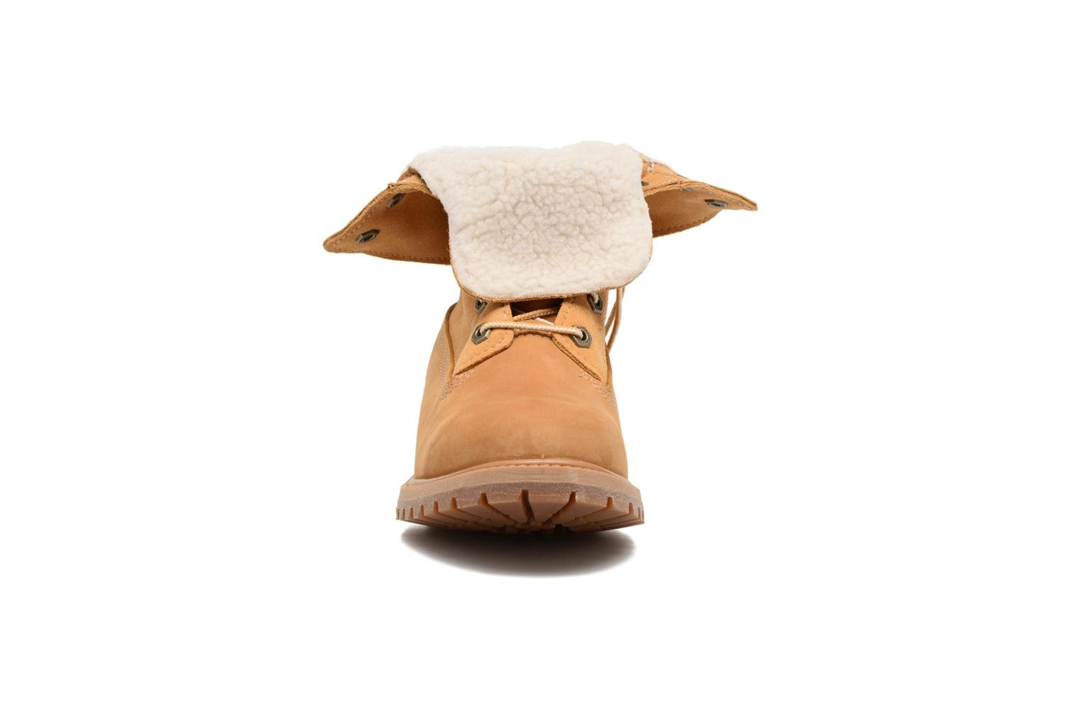 Ankle boots Timberland Authentics Teddy Fleece WP Fold Down Brown model view