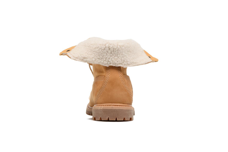Fleece Down Timberland Nubuck WP Authentics Wheat Teddy Fold UxfqR