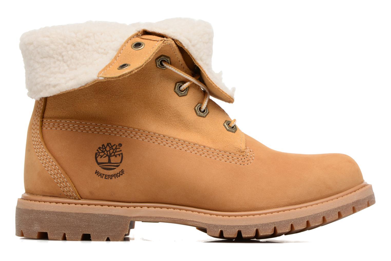 Bottines et boots Timberland Authentics Teddy Fleece WP Fold Down Marron vue derrière