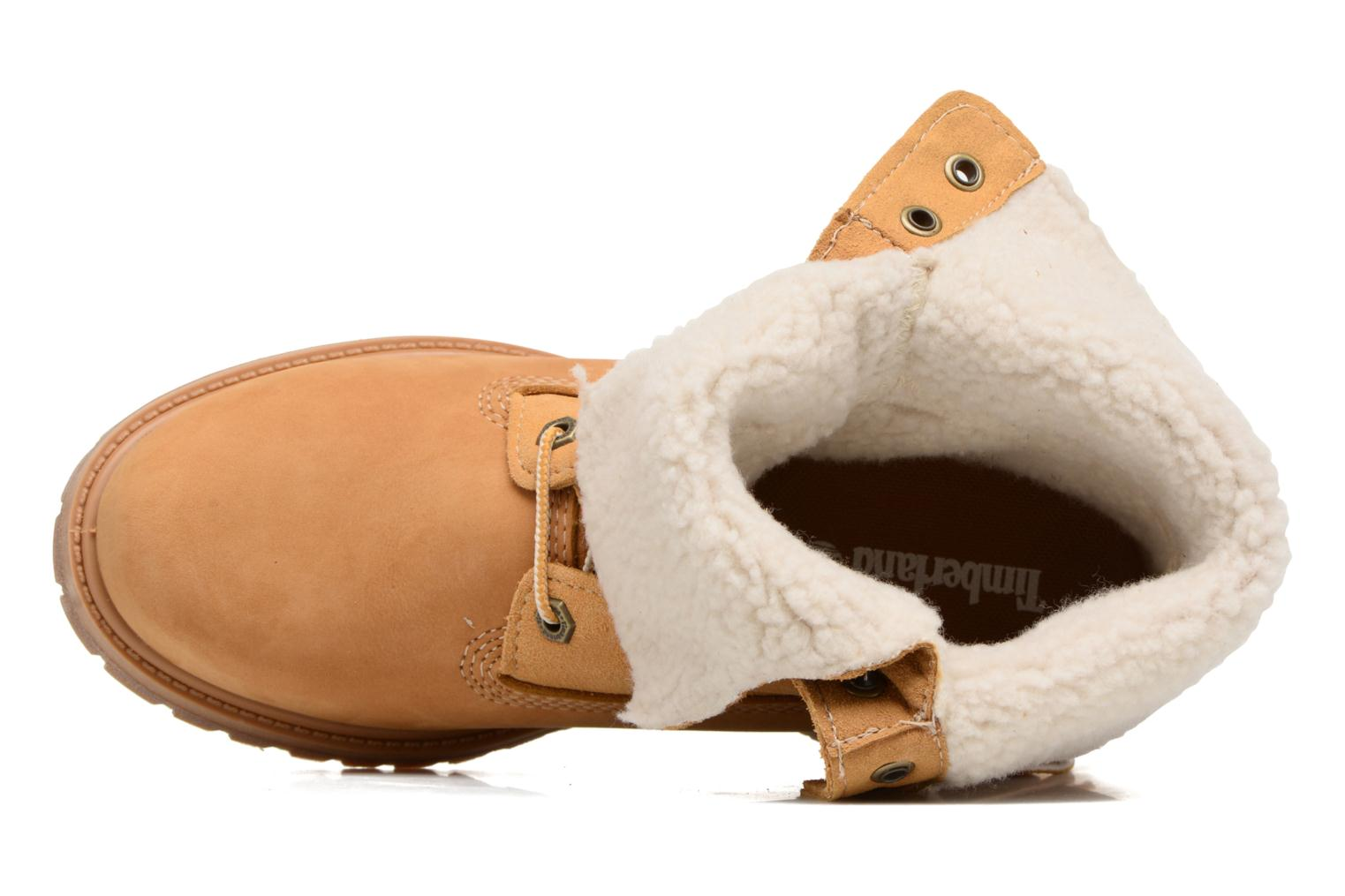 Authentics Teddy Fleece WP Fold Down Wheat Nubuck