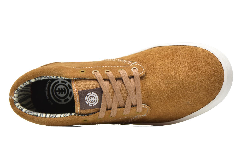 Chaussures de sport Element Preston Beige vue gauche
