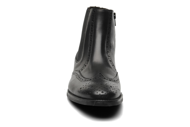 Boots en enkellaarsjes Marvin&Co Nalfino chelsea Zwart model
