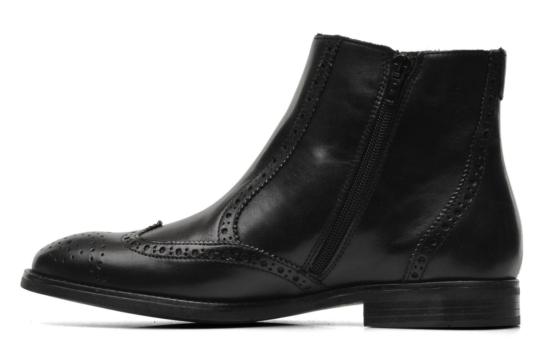 Boots en enkellaarsjes Marvin&Co Nalfino chelsea Zwart voorkant