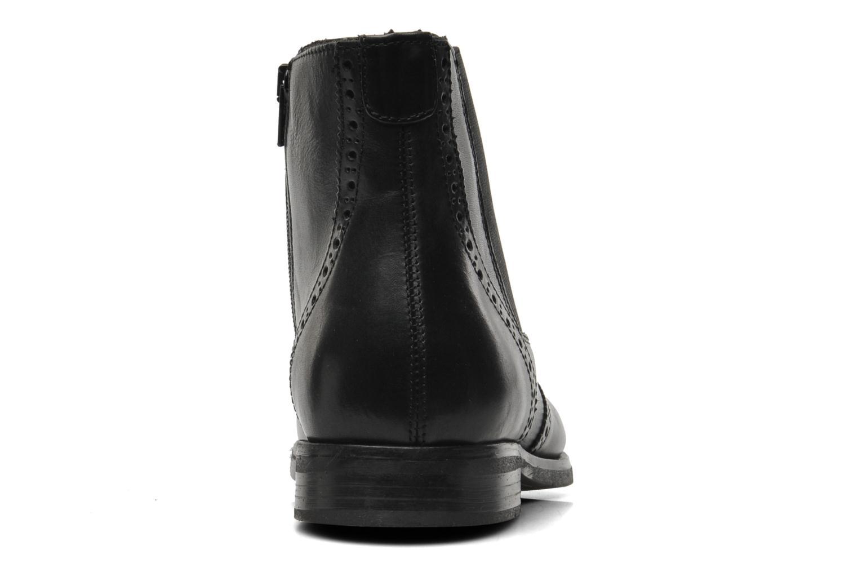 Stiefeletten & Boots Marvin&Co Nalfino chelsea schwarz ansicht von rechts