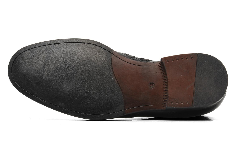 Stiefeletten & Boots Marvin&Co Nalfino chelsea schwarz ansicht von oben