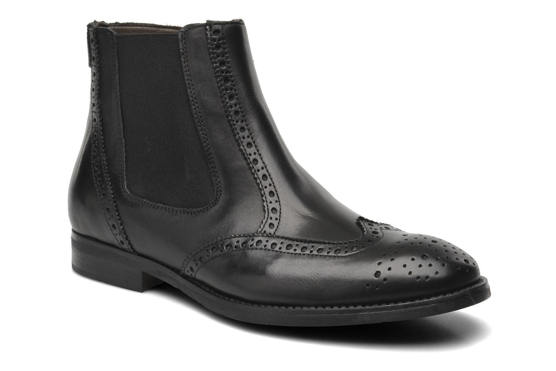 Boots en enkellaarsjes Marvin&Co Nalfino chelsea Zwart detail