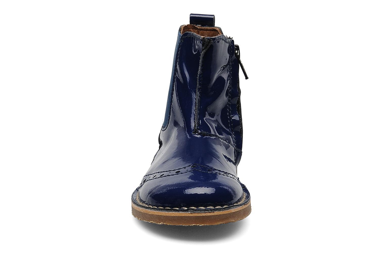 Stivaletti e tronchetti Bisgaard Boots Azzurro modello indossato