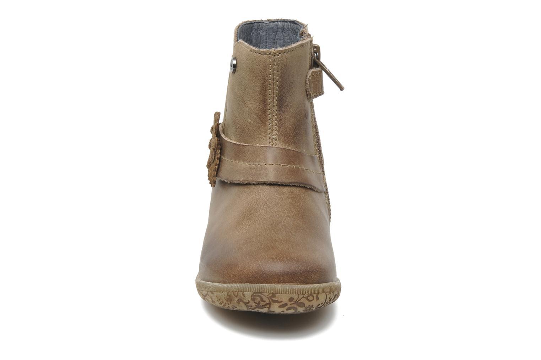 Stiefeletten & Boots Naturino Fleurette beige schuhe getragen