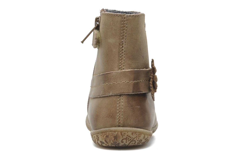 Stiefeletten & Boots Naturino Fleurette beige ansicht von rechts