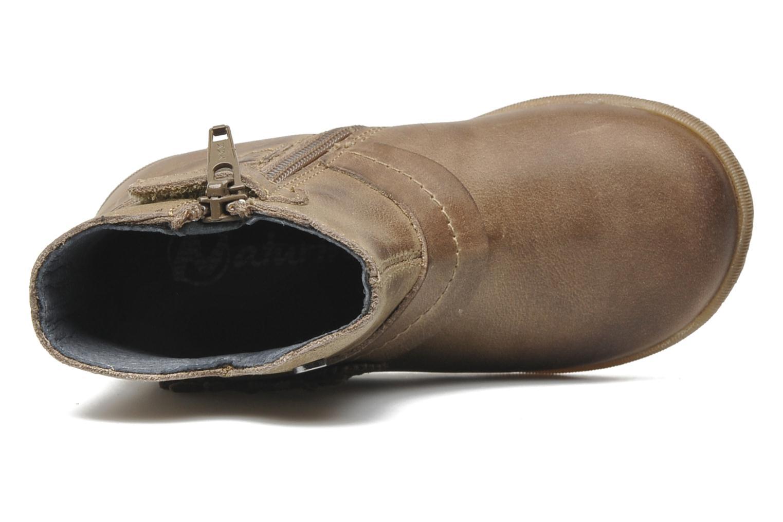 Stiefeletten & Boots Naturino Fleurette beige ansicht von links