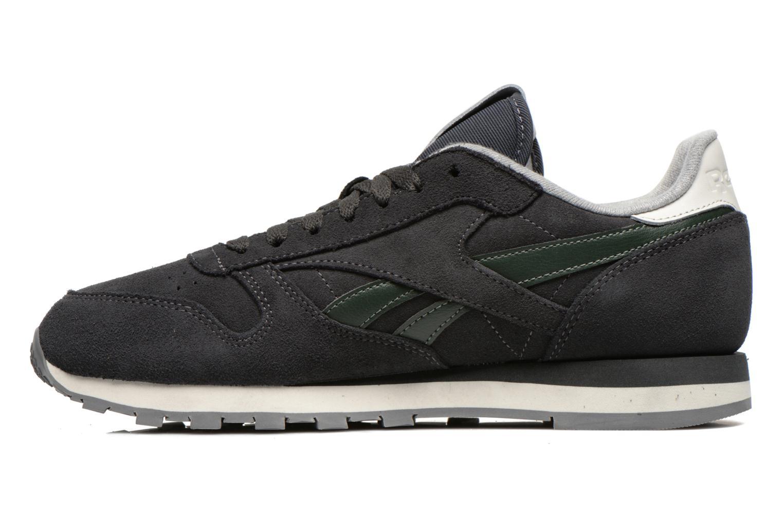 Sneaker Reebok Classic Leather Suede grau ansicht von vorne