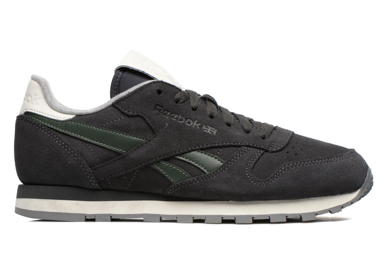 Sneaker Reebok Classic Leather Suede grau ansicht von hinten