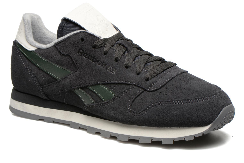 Sneaker Reebok Classic Leather Suede grau detaillierte ansicht/modell