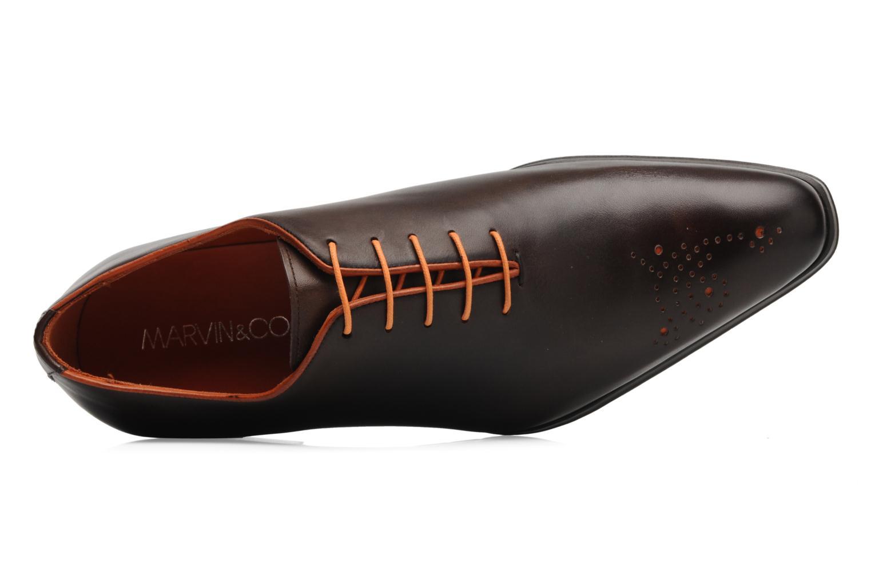 Chaussures à lacets Marvin&Co Perowne Marron vue gauche