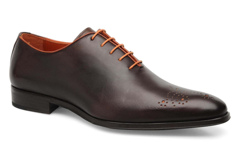 Chaussures à lacets Marvin&Co Perowne Marron vue détail/paire