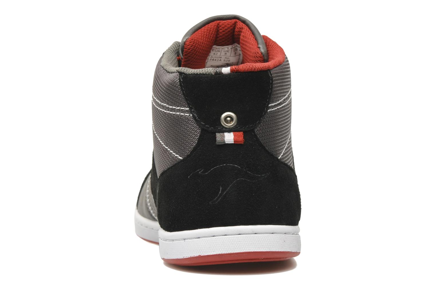 Jurek black/dark grey/kangaroos red