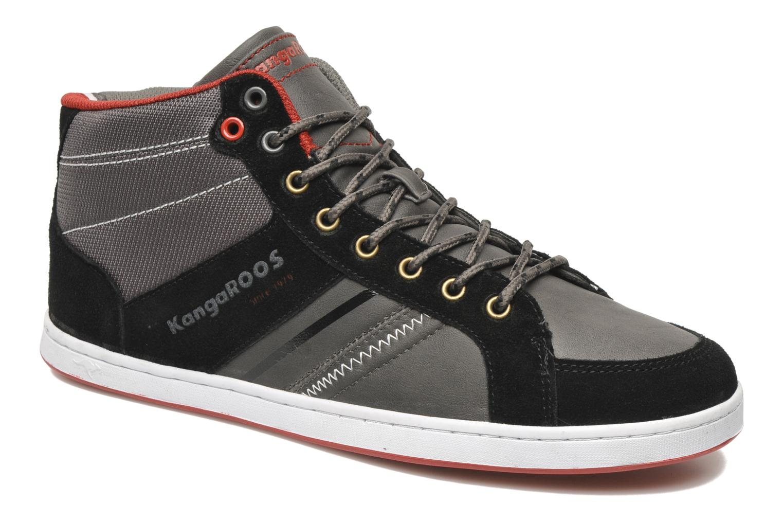 Jurek black/dark grey/kangaroos red