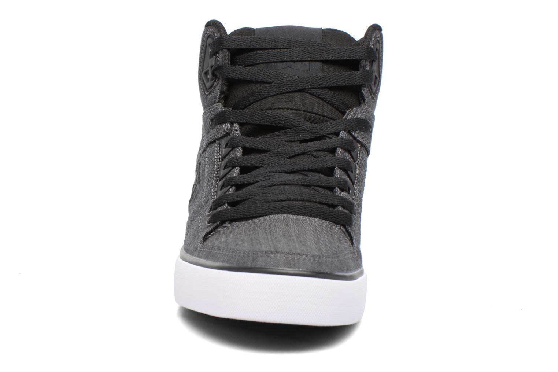 Chaussures de sport DC Shoes Spartan High Wc Tx Se Noir vue portées chaussures