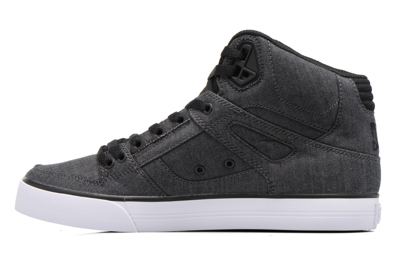 Chaussures de sport DC Shoes Spartan High Wc Tx Se Noir vue face