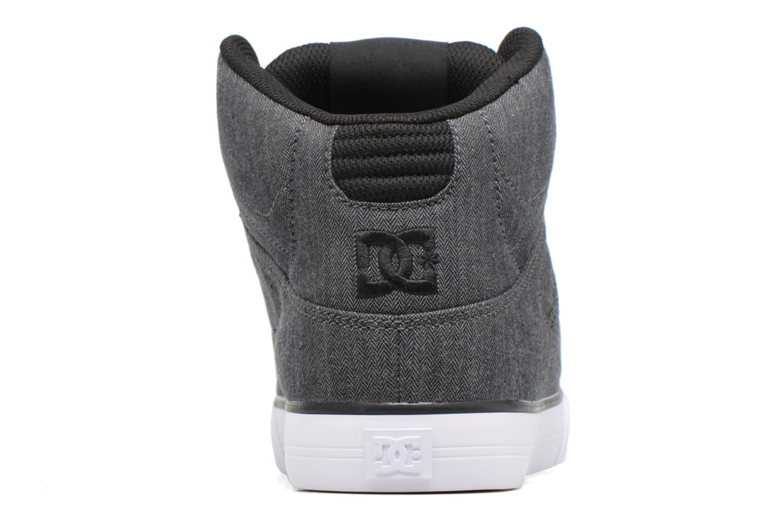 Chaussures de sport DC Shoes Spartan High Wc Tx Se Noir vue droite