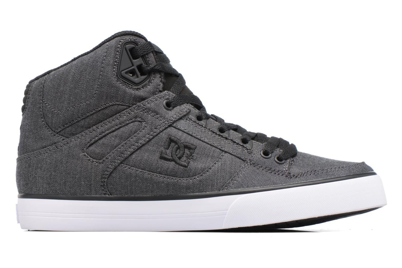 Chaussures de sport DC Shoes Spartan High Wc Tx Se Noir vue derrière
