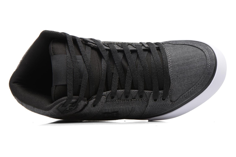 Chaussures de sport DC Shoes Spartan High Wc Tx Se Noir vue gauche