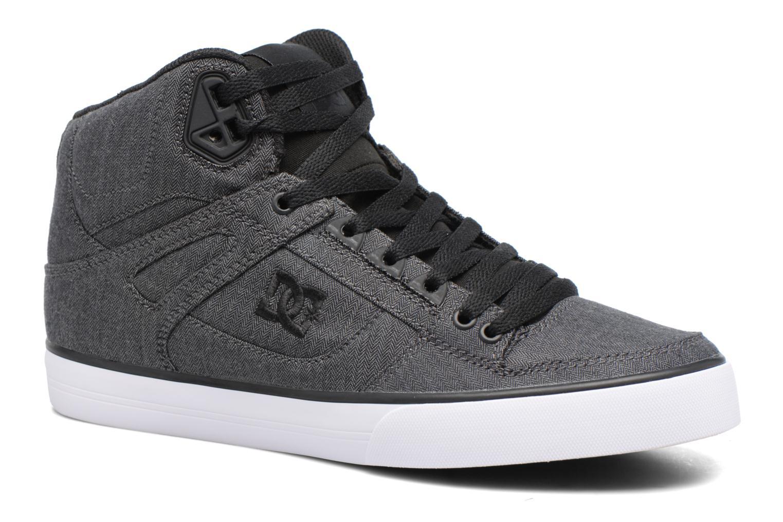Chaussures de sport DC Shoes Spartan High Wc Tx Se Noir vue détail/paire