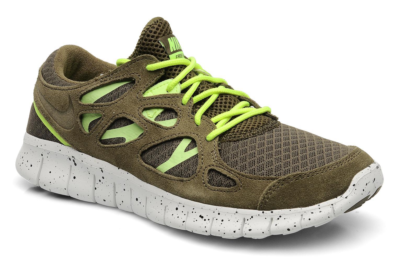premium selection da9ab 670ba Nike Free Run 2 Vert Gris Chaussures Homme 222 03 vente chaussure nike