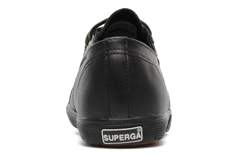 Sneaker Superga 2950 FGLU braun ansicht von rechts