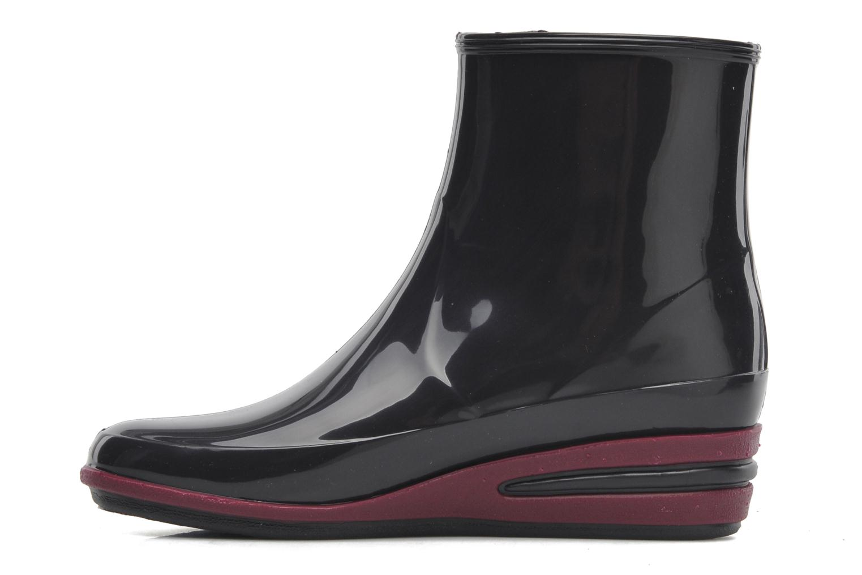 Stiefeletten & Boots Méduse Castic lila ansicht von vorne