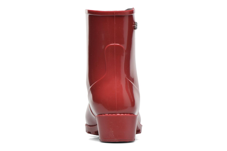 Bottines et boots Méduse Camaro Rouge vue droite
