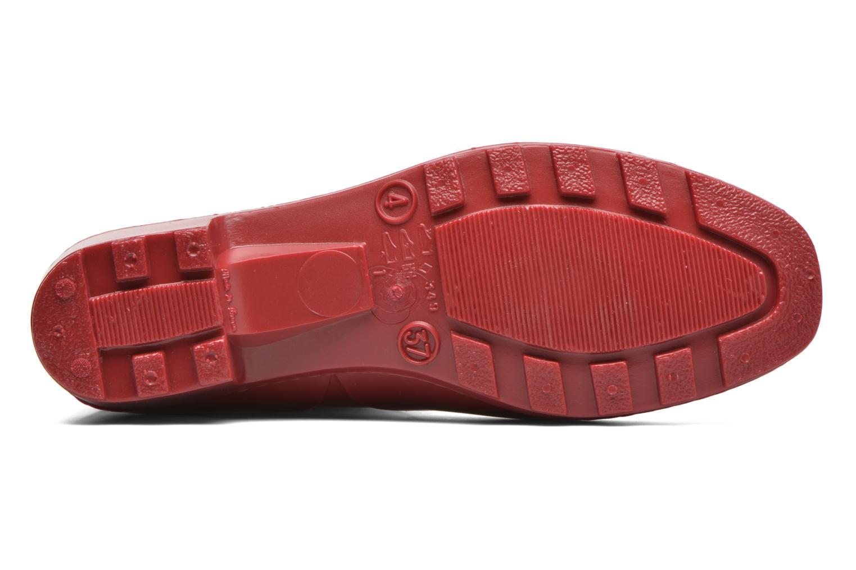 Bottines et boots Méduse Camaro Rouge vue haut