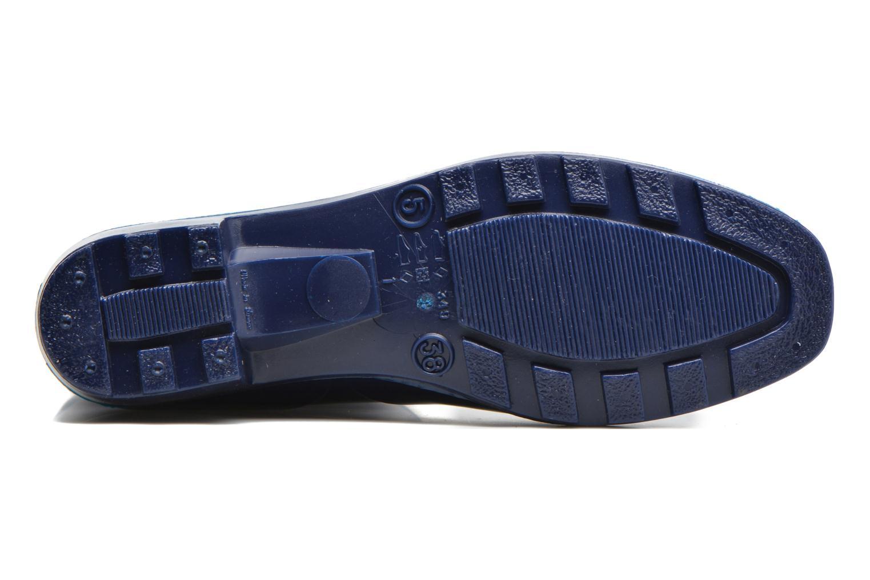 Bottines et boots Méduse Camaro Bleu vue haut