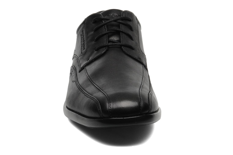 Schnürschuhe Rockport Bl Bike Front schwarz schuhe getragen