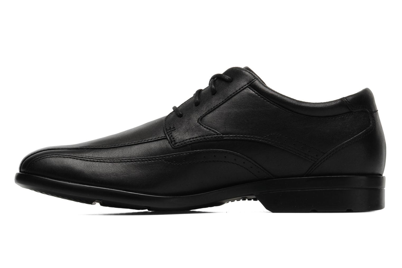 Chaussures à lacets Rockport Bl Bike Front Noir vue face