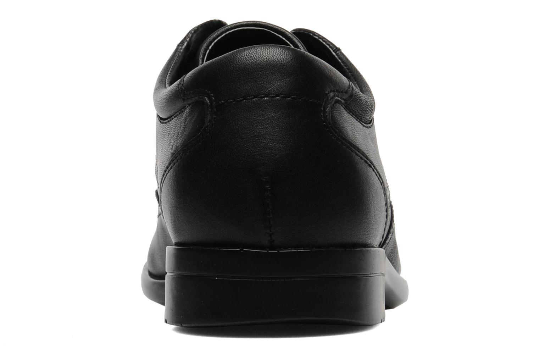 Chaussures à lacets Rockport Bl Bike Front Noir vue droite