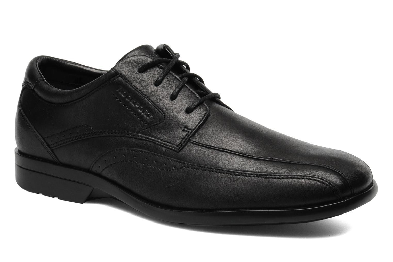 Chaussures à lacets Rockport Bl Bike Front Noir vue détail/paire