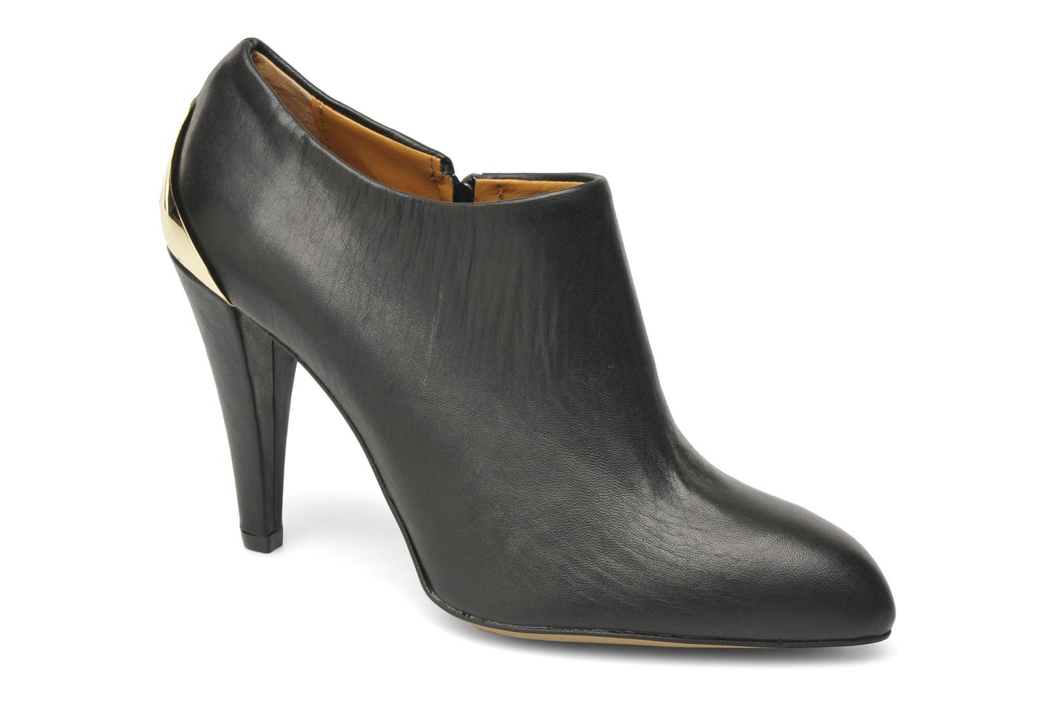 Ankle boots Eden Peker Black detailed view/ Pair view
