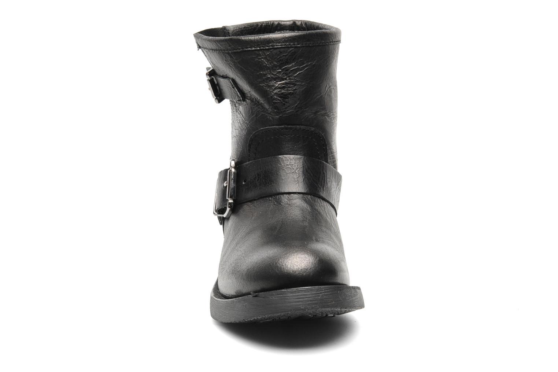 Bottines et boots Eden Dilara Gris vue portées chaussures