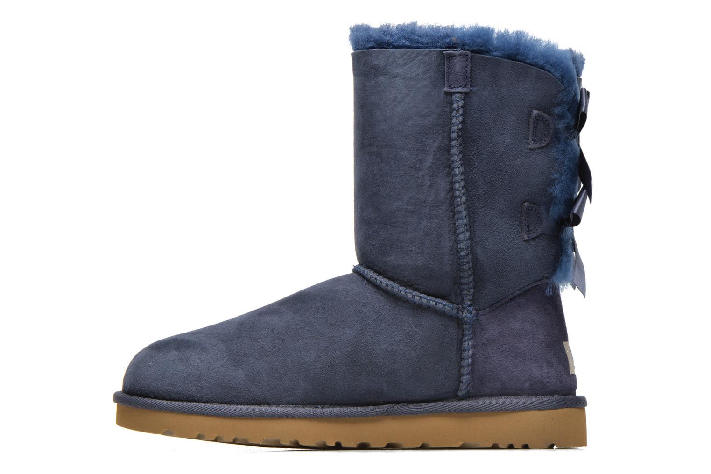 Boots en enkellaarsjes UGG Bailey Bow W Blauw voorkant