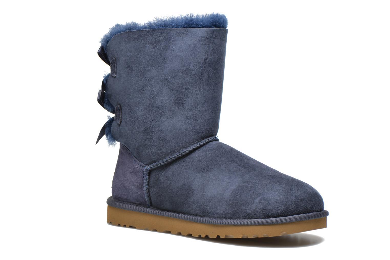 Boots en enkellaarsjes UGG Bailey Bow W Blauw detail
